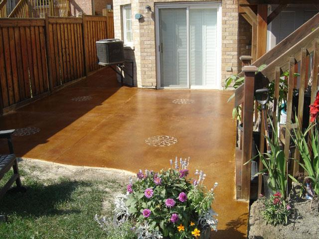 Transform Your Patio With Stained Concrete