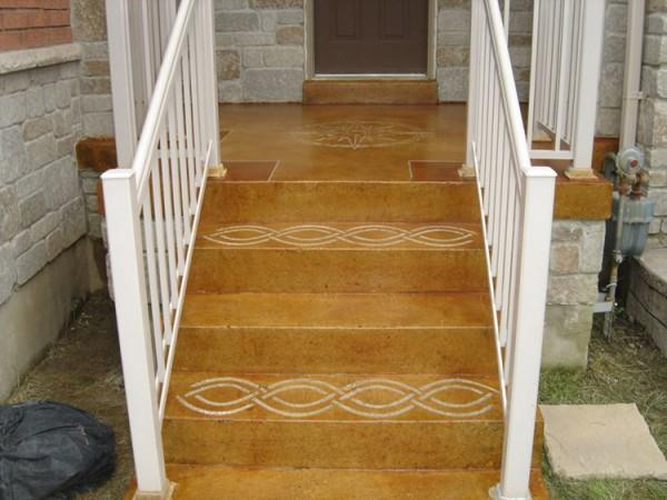 Porch and Staircase, Thornhill, ON