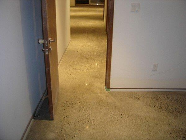 Basement Polishing Job