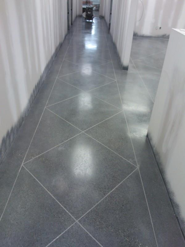 Epoxy Floor Coating, Staining & Engraving at Stoufville Warehouse