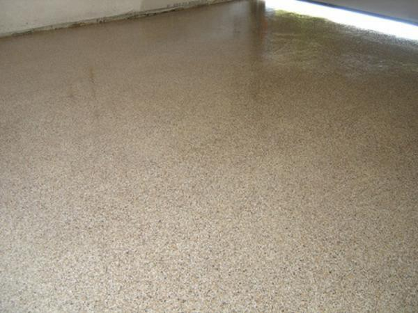 Epoxy With Chips System, Garage, Midtown Toronto