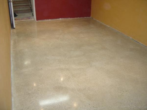 Polishing project at the basement level, Hillsburgh, ON.