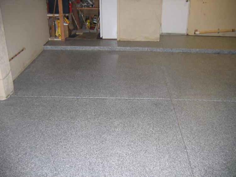 Epoxy and Chips System, North York Garage
